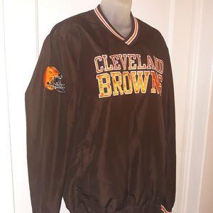🔥NWOT🔥Cleveland Browns NFL Windbreaker